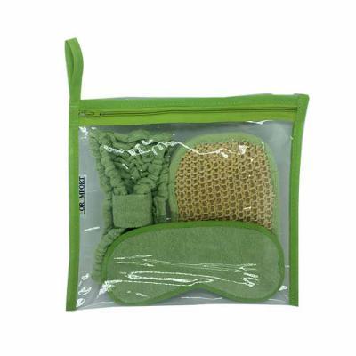 For Import - Kit bambu, é ideal para seus cuidados diários, vem uma bucha que promove limpeza eficaz e remove todas as impurezas com suave ação esfoliante, uma más...