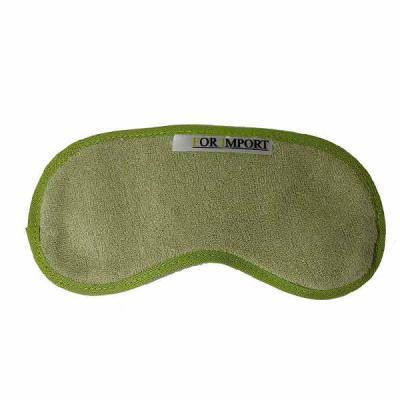 For Import - Máscara para descanso dos olhos em fibra de bambu. material leve e flexível que proporciona mais conforto durante o uso. A tira de prender é feita com...