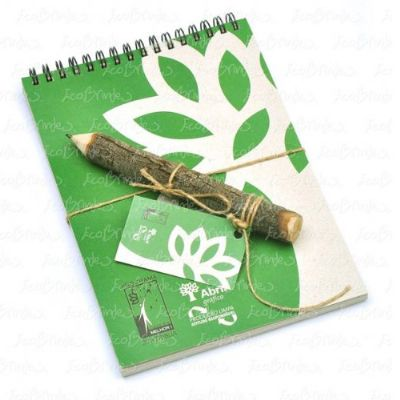 Ecobrindes - Bloco recilcato lápis