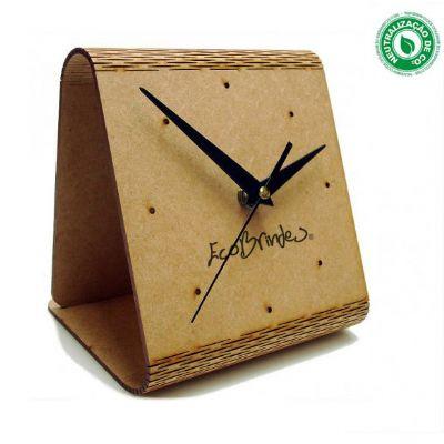 Ecobrindes - Relógio de mesa Flex