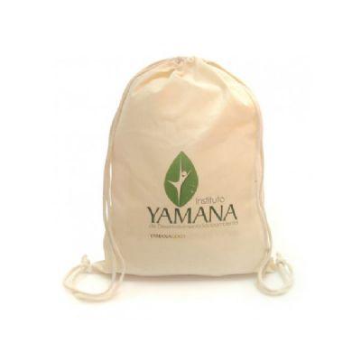 Ecobrindes - Mochila saco ecológica algodão