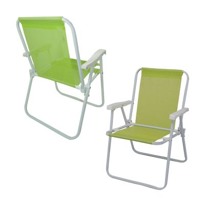 Reina Brindes Promocionais - Cadeira de praia alta.