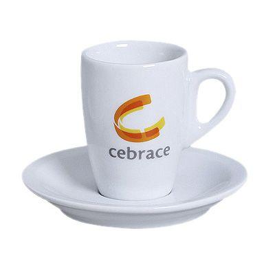 Reina Brindes Promocionais - Xícara café porcelana