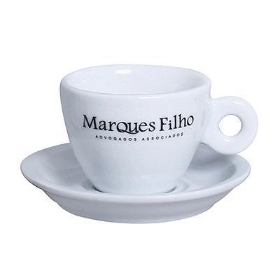 Reina Brindes Promocionais - Xícara de chá porcelana