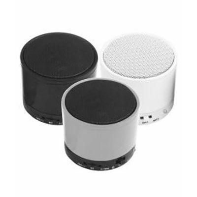Expresso Brindes - Caixa de som multimídia com Bluetooth, com rádio FM, possui entrada USB, micro SD (TF) ,AUX e P2, microfone integrado, falante de 3W , cabo USB/AUX, p...