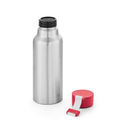 Expresso Brindes - Squeeze. Alumínio. Com fita em silicone. Capacidade: 570 ml.