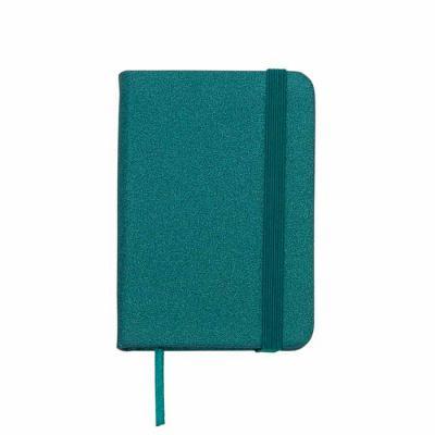 capital-brindes - Mini Caderneta produzida em material sintético brilhante com marcador de página em cetim e fita elástica para fechar. Contém aproximadamente 80 folhas...