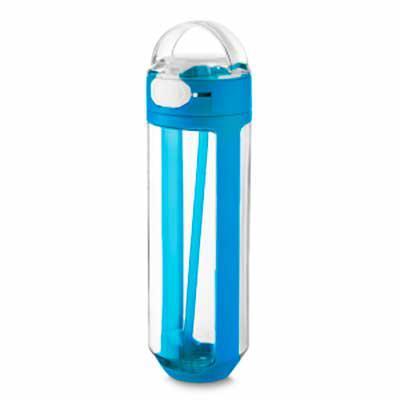 Capital Brindes - Garrafa plástica 770 ml com trava emborrachado, plástico utilizado: PP (Polipropileno). Dimensão Produto: 26,0xø7,6cm  Peso do Produto: 0,250kg