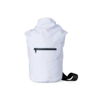 Capital Brindes & Cia - Mochila saco 10 litros à prova d´água. Material confeccionado em lona, possui costura soldada resistente, lacre dobrável, alça ajustável para costa(re...