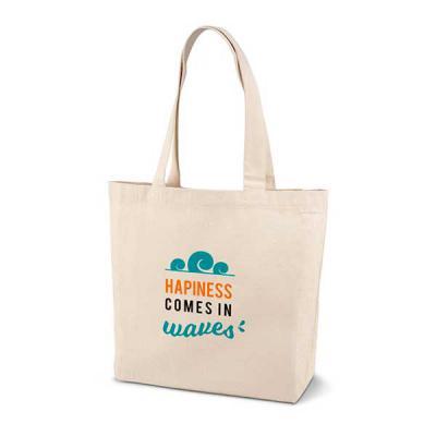 Capital Brindes & Cia - 100% algodão: 180 g/m². Com alças de 65 cm. 460 x 400 x 105 mm