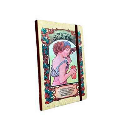 Cicero Papelaria - Caderneta com Capa Colorida da marca CICERO