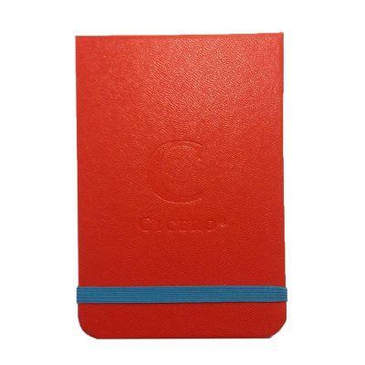 Cicero Papelaria - Bloco personalizado em diversas cores de capa e elástico