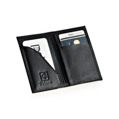 P2K Brindes - Porta cartão em couro ou sintético. Tam.: 10x07
