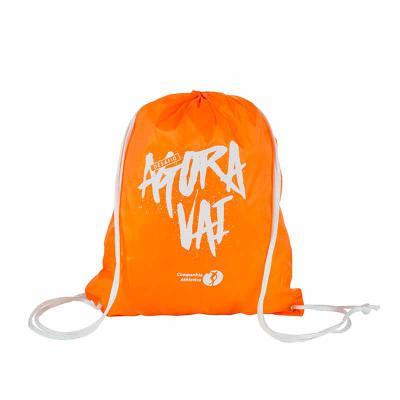 Multipacks Brasil - Saco mochila 35X42 cm, em nylon resinado, com 2 cordões e ilhós