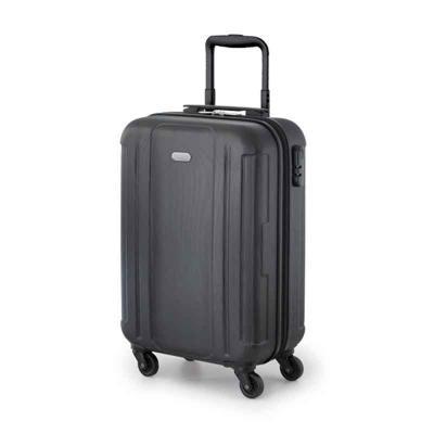 Multipacks Brasil - Mala de viagem executiva. ABS. Interior forrado, com divisória. 4 rodas giratórias. Pega extensível em alumínio, com mola (altura da pega estendida: 5...