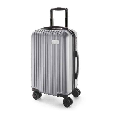 Multipacks Brasil - Mala de viagem executiva. ABS e PET. Interior forrado, com divisória. 4 rodas duplas giratórias. Pega extensível em alumínio, com mola (altura pega es...