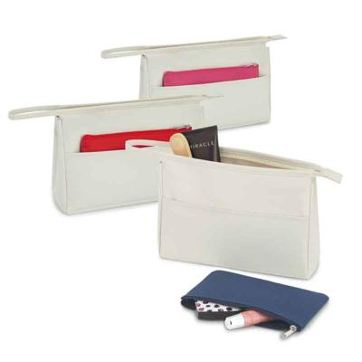 Multipacks Brasil - Nécessaire. Microfibra. Com bolso frontal e bolsa multiusos. 230 x 150 x 70 mm | Bolsa pequena: 180 x 110 mm