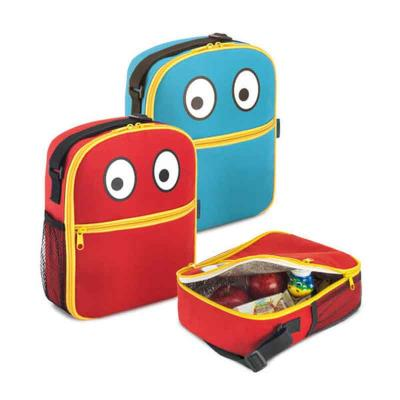 Multipacks Brasil - Bolsa térmica infantil. 600D. Alça ajustável. 190 x 230 x 80 mm