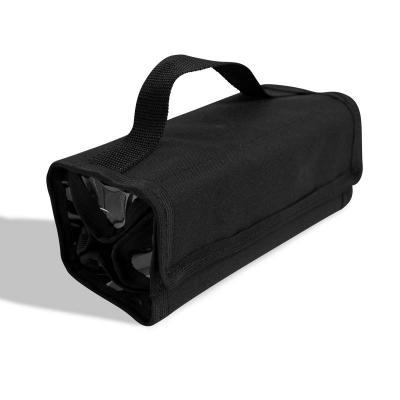Multipacks Brasil - Necessaire organizadora com 4 compartimentos em pvc cristal. Medidas: 21x10x10