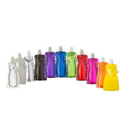 Multipacks Brasil - Squeeze dobrável de plástico