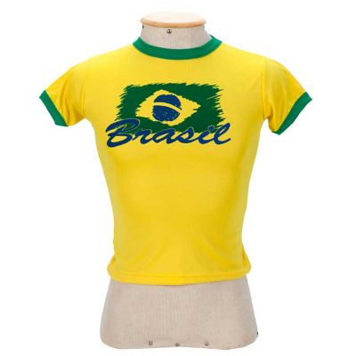 Multipacks Brasil - Camiseta infantil de algodão