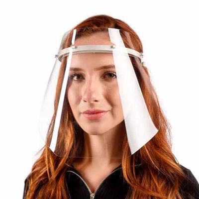 Multipacks Brasil - Máscara Protetora Face Shield PTG - alta transparência com tiara viseira, Leve e confortável.