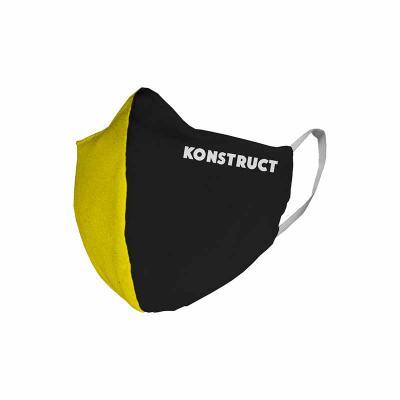 Multipacks Brasil - Máscara em tecido, tricoline algodão duplo com elásticos modelo corporativo, muito confortável.
