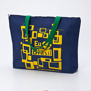 multipacks-brasil - Sacola em poliester com ziper.