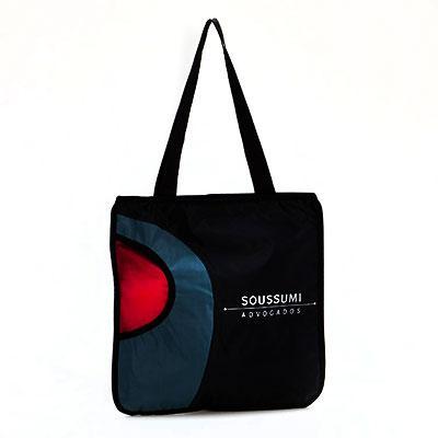 multipacks-brasil - Sacola em nylon com bolso para squeeze