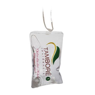 Magia Brindes - Sachê álcool gel 70% com cordão de silicone