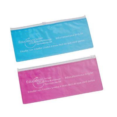 Magia Brindes - Porta-voucher de PVC personalizado.
