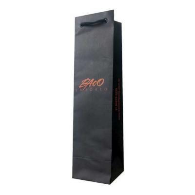 Rota das Embalagens - Sacola de papel para vinho