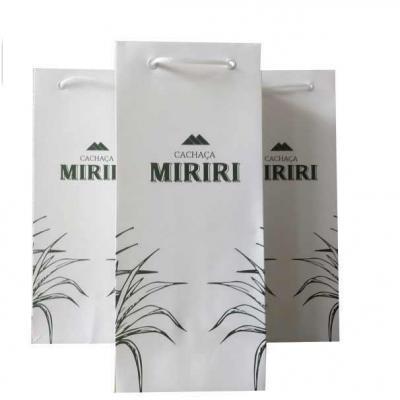 Rota das Embalagens - Sacolas de papel para cachaça