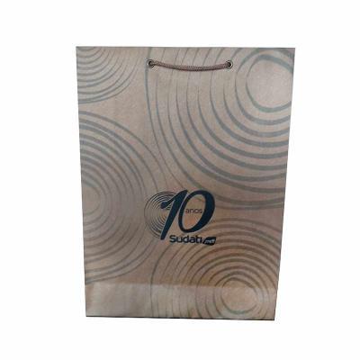 Rota das Embalagens - Sacola personalizada em papel Kraft 170 gramas