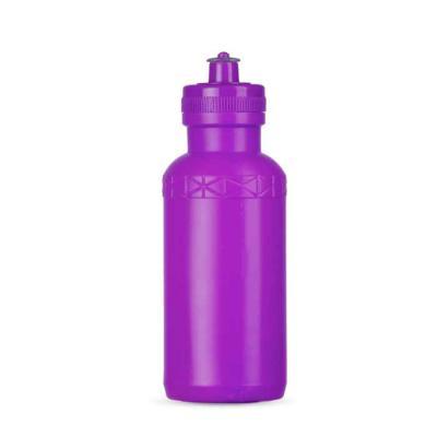 Santa Paula Brindes - 07092 - Squeeze 500 ml de plástico resistente inteiro colorido, possui detalhe em relevo na parte superior e tampa de bico(silicone) rosqueável.  Tama...