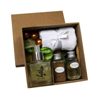 Beetrade Gift - kit banho. Inclusa uma personalização na caixa