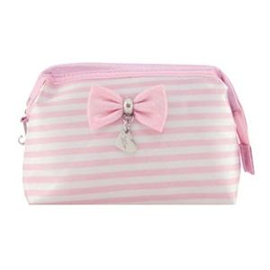 Beetrade Gift - Nécessaire listrada rosa.
