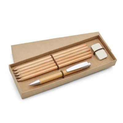 Allury Brindes - Kit escritório ecológico com 3 peças