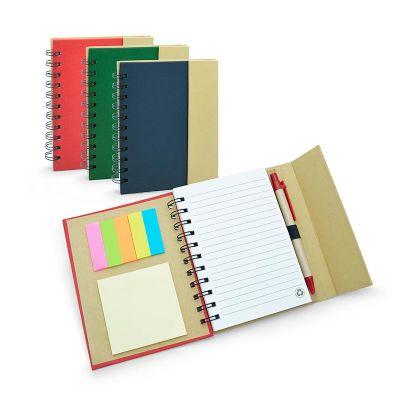 Allury Brindes - Caderno color Eco com espiral