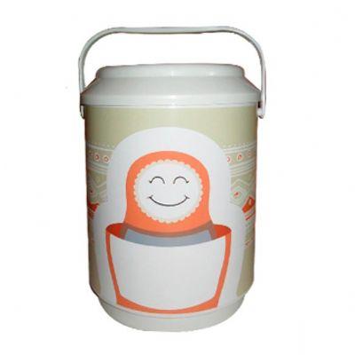 Allury Brindes - Cooler térmico para 6 latas PVC rígido
