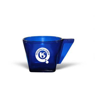 Allury Brindes - Xícara CAFÉ, 50mL,  feita em PS Cristal que garante transparência e durabilidade ao produto. Design exclusivo do Grupo BB. Cores Disponíveis - CRISTAL...