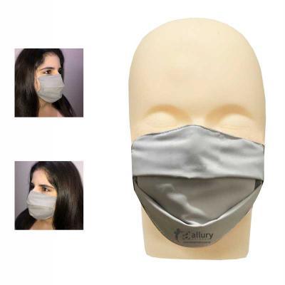 Allury Brindes - Máscara lavável com elástico personalizada