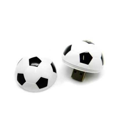 Allury Brindes - Pen Drive Bola de Futebol 4GB Personalizado