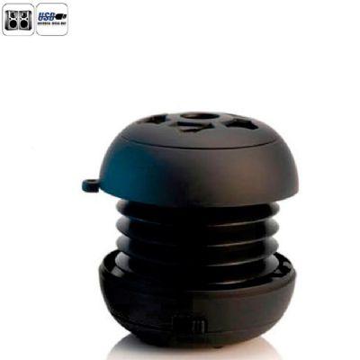 Allury Brindes - Caixa de som mini USB