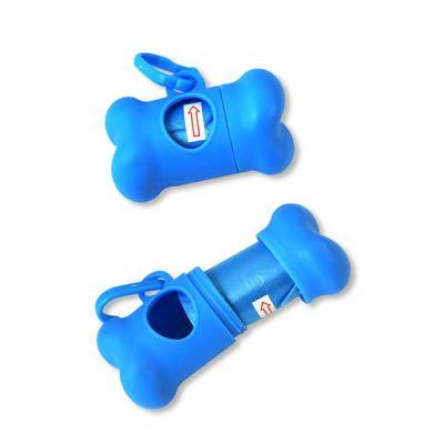 Allury Brindes - Kit de higiene em formato de osso. Contém 20 sacos plástico : 26,5 x 32 cm e porta-saco: 8,2 x 4,8 x 4,1 cm.