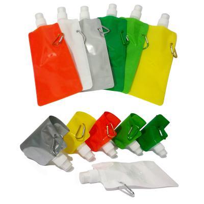 Allury Brindes - Squeeze Plástico Dobrável 480ml 1