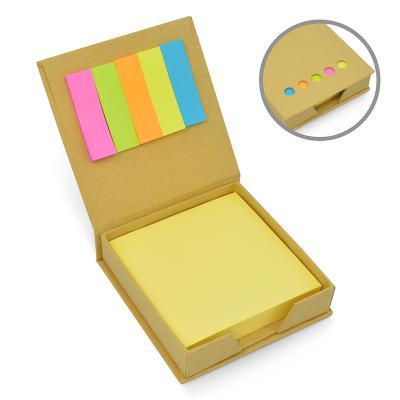 allury-gifts - Bloco de Anotações Eco com Post-it 1