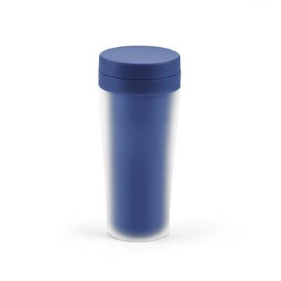 Allury Brindes - Possui tampa rosqueável que auxilia na manutenção da temperatura da sua bebida. Possui corpo translucido. Gravação em Silk Screen.