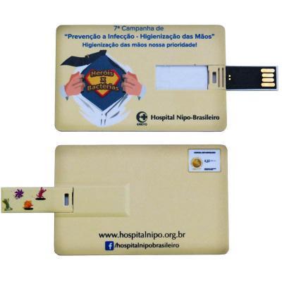 Allury Brindes - Pen Drive Cartão Digital - 8GB 1