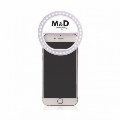 Allury Brindes - Clips Flash Selfie Ring Light: Luz de Selfie para Celular 1